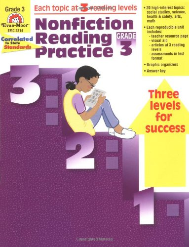 9781557999429: Nonfiction Reading Practice, Grade 3