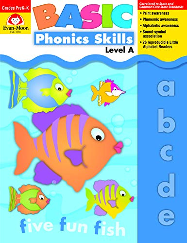 9781557999665: Evan-Moor Basic Phonics Skills for Grades Pre