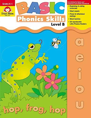 9781557999672: Evan-Moor Basic Phonics Skills for Grades K-1, Level