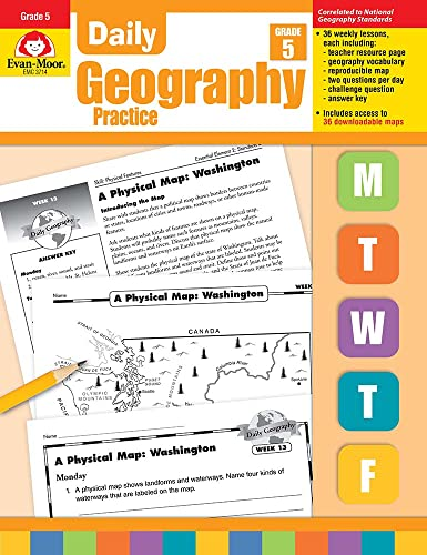 9781557999740: Daily Geography Practice Grade 5