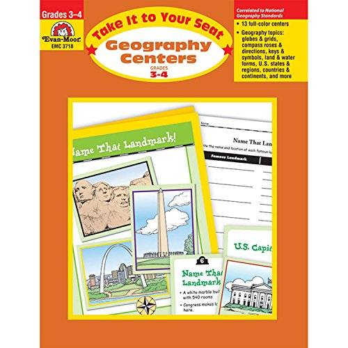 9781557999979: Geography Centers, Grades 3-4
