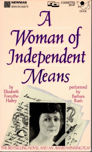9781558000629: A Woman of Independent Means