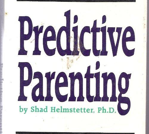 9781558001435: Predictive Parenting/Audio Cassettes