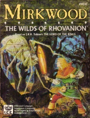 Mirkwood - The Wilds of Rhovanion (Middle-Earth Role Playing (MERP) (1st Edition) - Campaign Books)