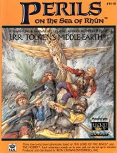 9781558060326: Perils on the Sea of Rhun (Middle Earth Game Supplements, Stock No. 8110)