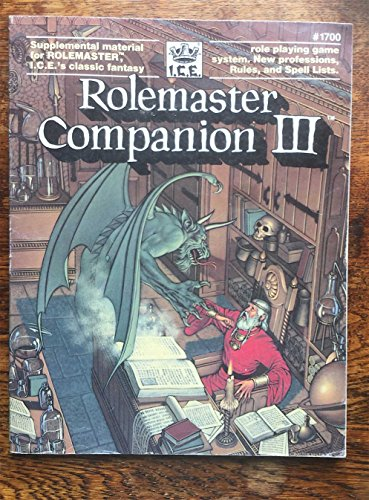 9781558060500: Rolemaster Companion 3