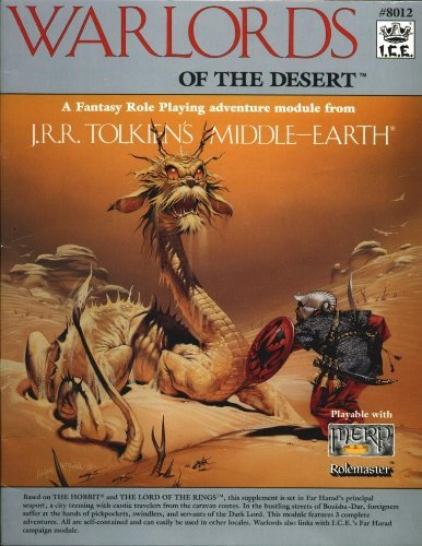 Warlords of the Desert (Middle Earth): Crutchfield, Charles