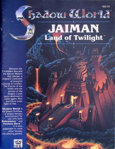 Jaiman, Land of Twilight (Shadow World Exotic Fantasy Role Playing Environment, Stock No 6010)