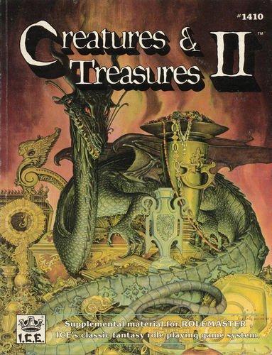 Creatures & Treasures II (Rolemaster (2nd Edition)): Monte Cook