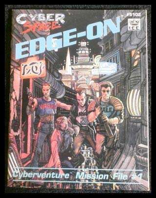 9781558060876: Edge-On: Cyberventure Mission File #1 (Cyberspace RPG)