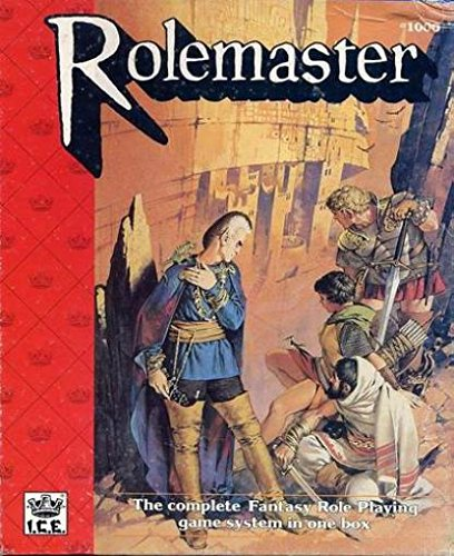 Rolemaster (2nd Edition, Revised) [BOX SET]