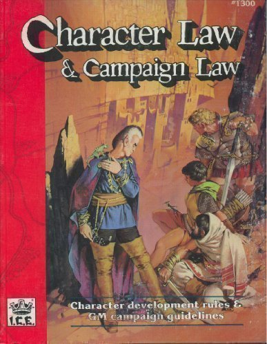 9781558060937: Character Law and Campaign Law (Advanced Fantasy Role Playing, 2nd Ed, Stock No. 1300)