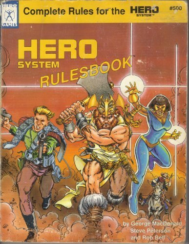 9781558060944: Hero System Rulesbook (Universal Role Playing, Stock No. 500)