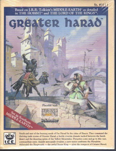Greater Harad (Middle Earth Game Supplements, Stock No. 3111): William E. Wilson