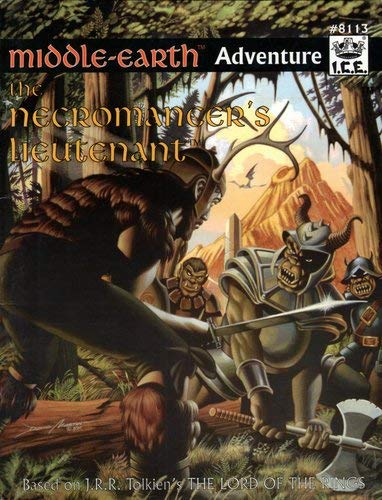 Necromancer's Lieutenant, The (Middle-Earth Role Playing (MERP) (1st Edition) - Adventure ...