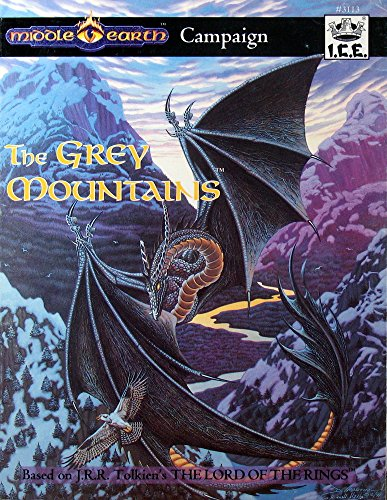 Grey Mountains, The (Middle-Earth Role Playing (MERP) (1st Edition) - Campaign Books)