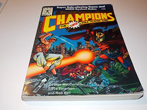 9781558061668: Champions: The Super Role-Playing Game, No. 450 (Hero Games)