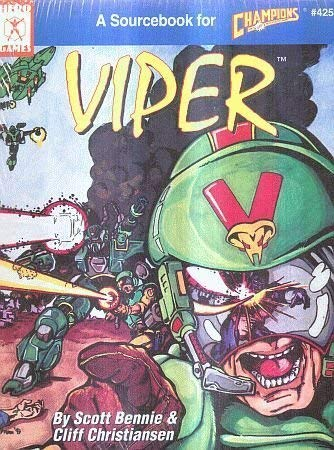 9781558061798: Viper: A Sourcebook for Champions (Iron Crown Enterprises Staff)