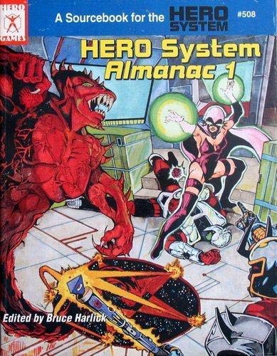 9781558061842: HERO System Almanac 1 (A Sourcebook for the HERO SYSTEM, CHAMPIONS)