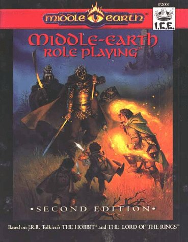 Middle Earth Role Playing, Second Edition (MERP #2001): Charlton, C.