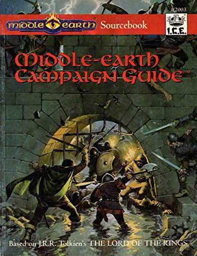 9781558061934: Middle-Earth Campaign Guide (Middle-Earth Role Playing Sourcebook)
