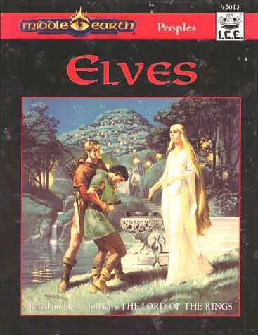 Elves: Peoples (Middle-Earth Role Playing): Fenlon, P., Amthor, T., Colburn, R.