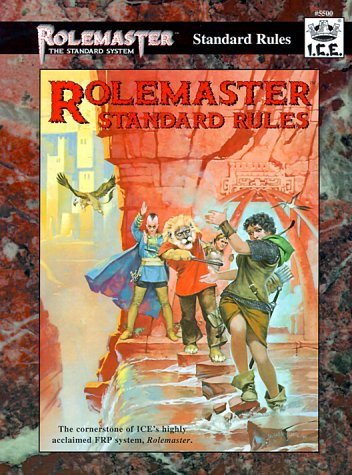 9781558062337: Rolemaster Standard Rules (Rolemaster Standard System)