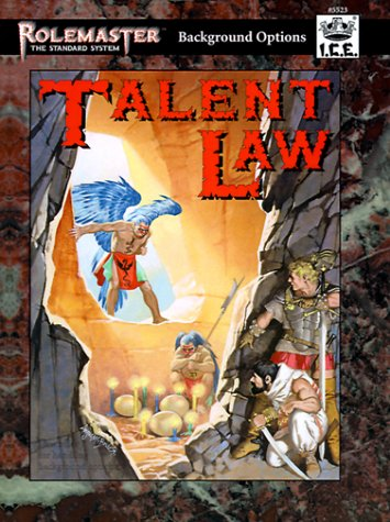9781558062528: Talent Law (Rolemaster Companion)