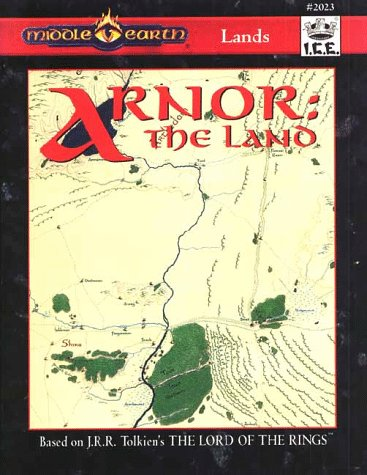 Arnor: The Land (Middle Earth Role Playing/MERP): Wesley J. Frank;