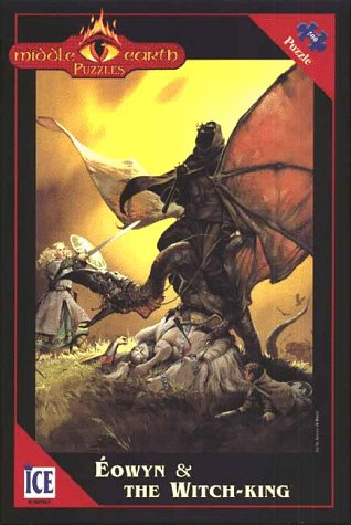 Jigsaw Puzzle: Eowyn and the Witch-King (Middle-Earth Puzzles): McBride, A.