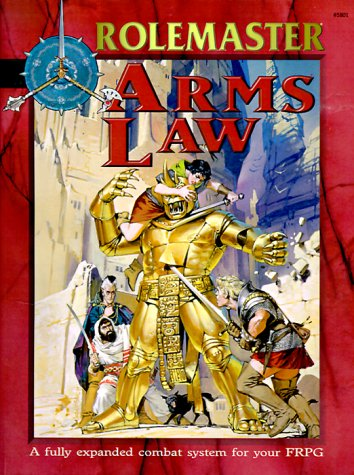 9781558065512: Arms Law (Rolemaster Companion)