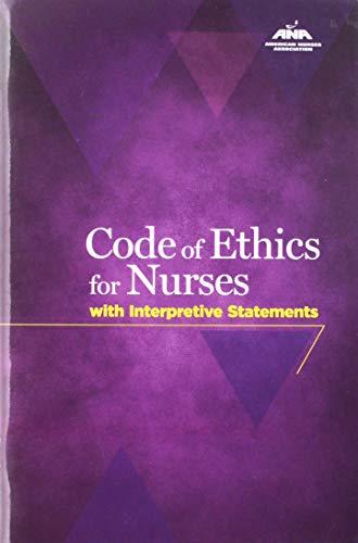 9781558101760: Code Of Ethics For Nurses With Interpretive Statements (American Nurses Association)