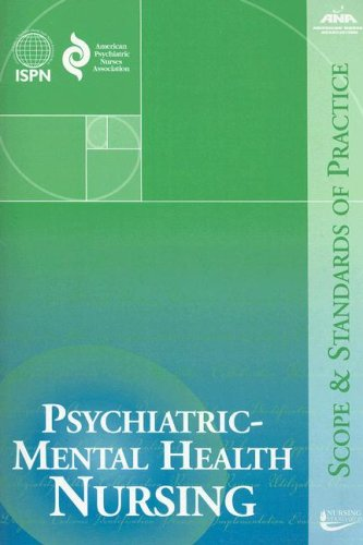 9781558102507: Psychiatric-Mental Health Nursing: Scope and Standards of Practice (American Nurses Association)