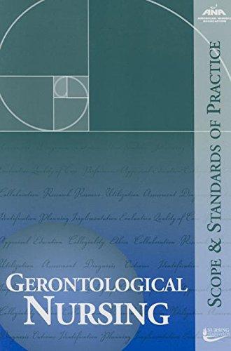 9781558102682: Gerontological Nursing: Scope and Standards of Practice (Ana, Geronotological Nursing)