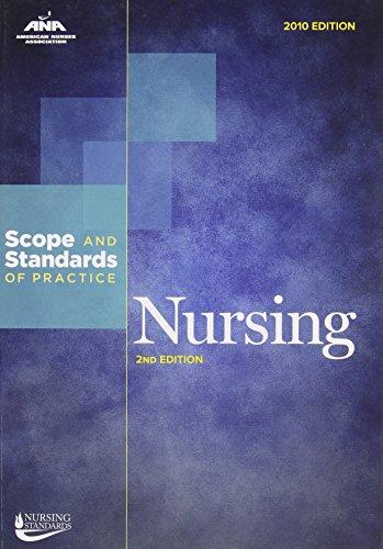 Nursing: Scope and Standards of Practice: Ana; American Nurses