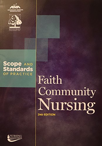 9781558104297: Faith Community Nursing: Scope and Standards of Practice (ANA, Faith Community Nursing)
