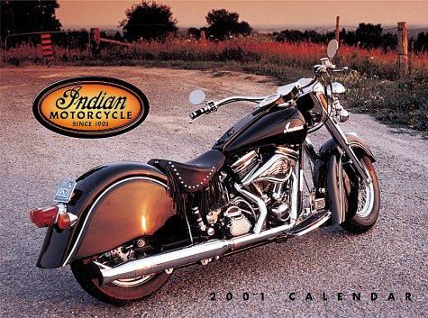9781558119727: Indian Motorcycles 2001 Calendar