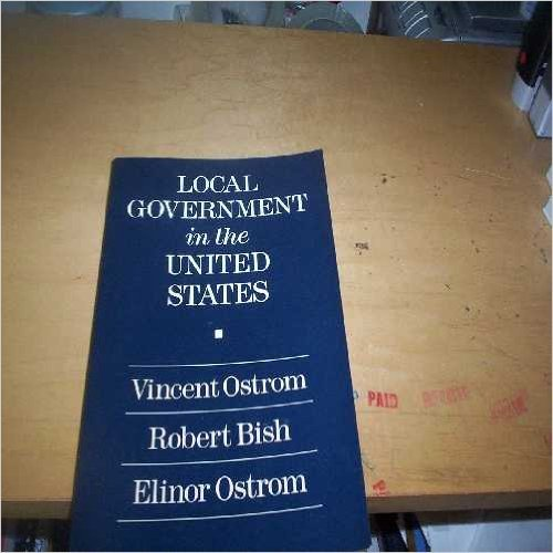 9781558150294: Local Government in the United States
