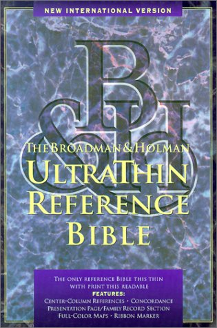 9781558190023: Niv Ultrathin Reference Bible (International Version)