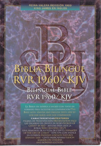 RVR 1960/KJV Bilingual Bible (Burgundy Bonded Leather