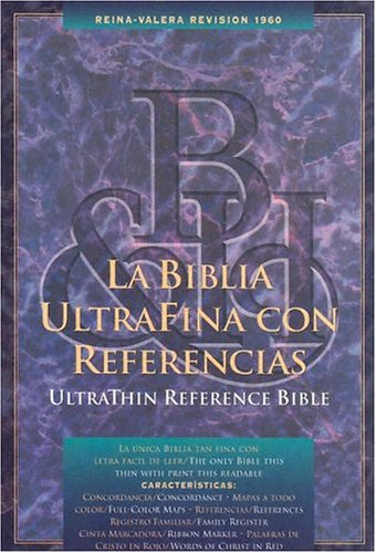 LA Biblia Ultrafina Con Referencias/Ultrathin Reference Bible (Spanish Edition)