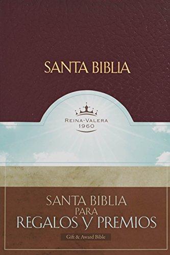 9781558191419: RVR 1960 Biblia para Regalos y Premios, borgoña imitación piel (Spanish Edition)