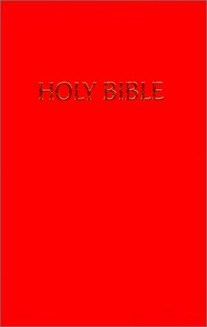 9781558192089: KJV Pew Bible (Scarlet Red)