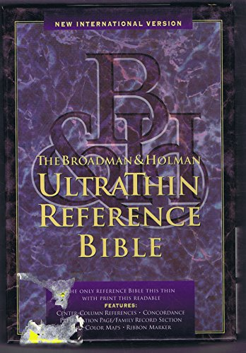 9781558192423: Bible Niv U/Thin Ref Lpurple T/I: Imitation Leather
