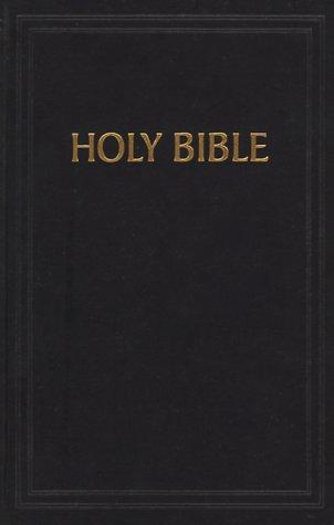 9781558192508: KJV Pew Bible, Black Hardcover