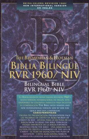 9781558192560: Biblia Bilinge/Bilingual Bible Rvr 1960/Niv Black Leather (Spanish Edition)