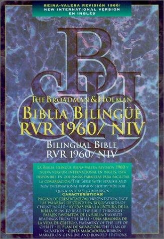 Bilingual Bible-PR-RV 1960/NIV (Spanish Edition): Bible