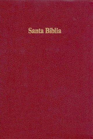 9781558193154: RVR 1960 Biblia Letra Grande con Referencias, borgoña imitación piel con índice (Spanish Edition)