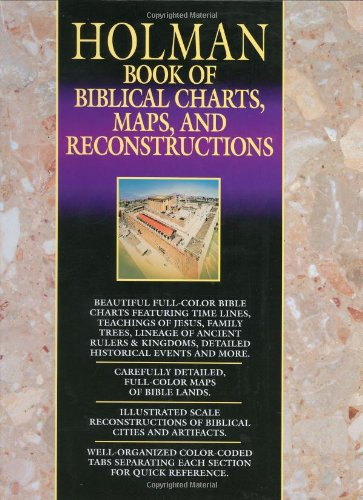 Holman Book Of Biblical Charts Maps & Reconstructions