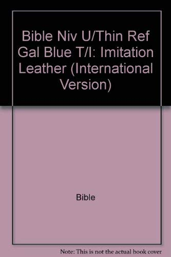 9781558193611: Niv Ultrathin Reference Bible (International Version)